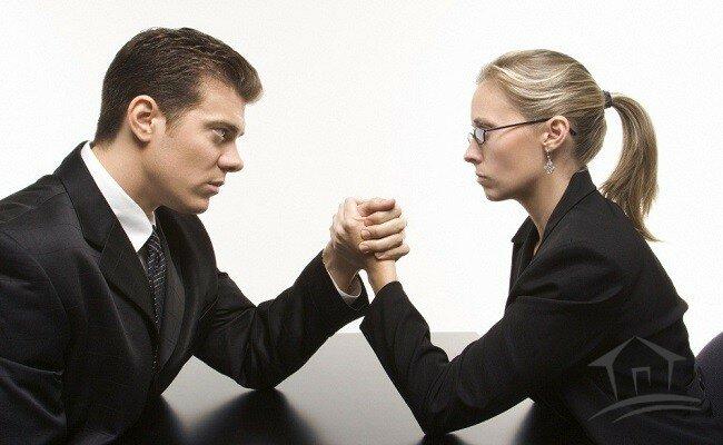 борьба супругов