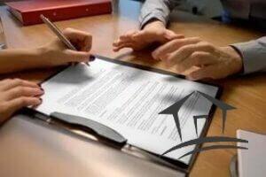 Составить договор можно у нотариуса